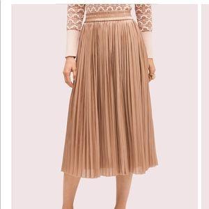 ♠️ Kate Spade metallic midi skirt ♠️